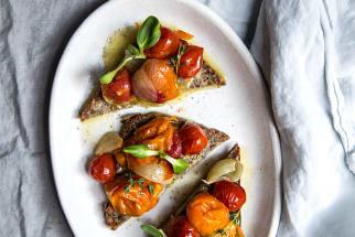 Cherry Tomato & Shallot Confit