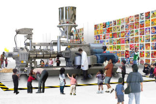 Museum of Food and Drink Rendering