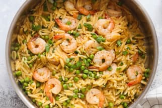 One-Pot Shrimp Orzo