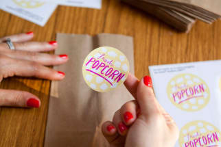 An Outdoor Movie Party: Free Printables for Your Own Movie Party