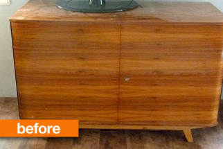 Before & After: an Art Deco Makeover