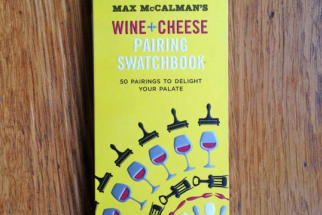Book Review: Wine + Cheese Pairing Swatchbook by Max McCalman