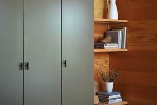 Wall-mounted IKEA Wardrobe Entryway