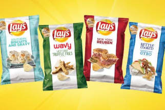 New Lays Potato Chip Flavors