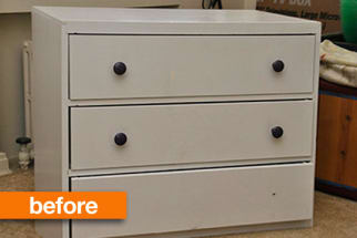 Before & After: a Sad Dresser Gets a Second Chance