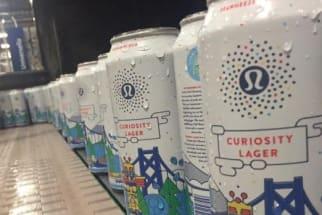 Curiosity Beer from Lululemon