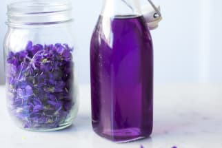 Violet Simple Syrup