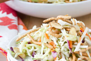 Recipe: Crunchy Cabbage & Ramen Noodle Salad