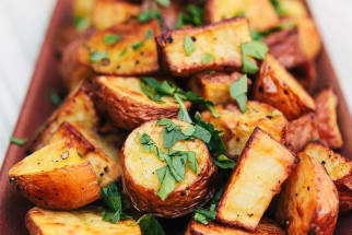 Fresh Herb Roasted Potatoes