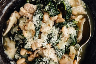 Chicken, Greens, and Beans