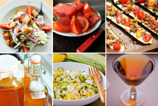 15 Supper Salads, How to Make Kombucha, The Secrets of Bartenders & Zucchini Boats
