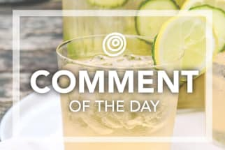 Cucumber sangria - Comment of the Day
