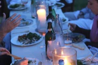 A Summer Birthday Dinner
