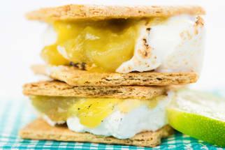 Recipe: Key Lime Pie S'mores
