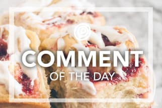 Strawberry sweet rolls - Comment of the Day