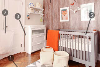 Shop the Room: Max's Perfectly Modern Nursery