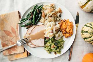 Stovetop Thanksgiving Dinner