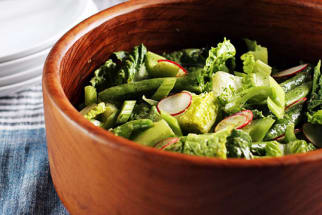 Recipe: Crunchy Spring Salad with Dill Dressing