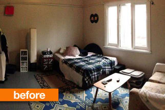 Before & After: A Roommate's Prank Makeover