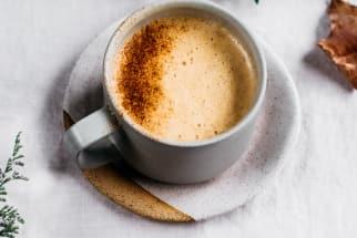 Tahini Rose Rooibos Latte
