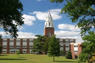 Campus clocktower at Southern Illinois University