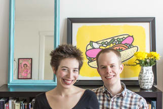 Kate & Chad's Art-Filled Dwelling