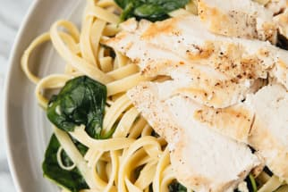 Ginger Chicken and Pasta