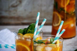 Rooibos Peach Tea Punch