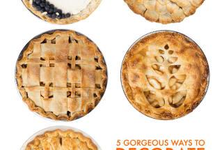 Decorate pie