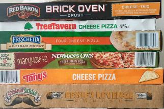 Ten Frozen Pizzas