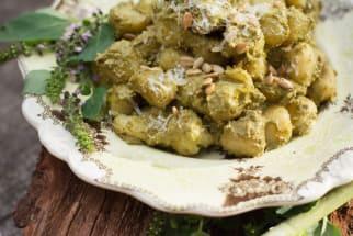 Recipe: Creamy Avocado Pesto Gnocchi