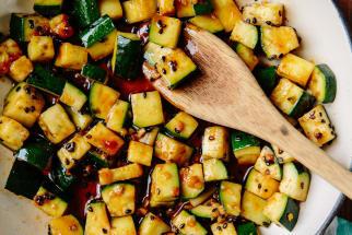 Michael Natkin's Spicy Stir-Fried Zucchini