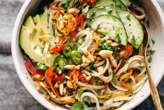 Spring Roll Bowls