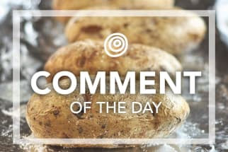 Baked Potatoes - Comment of the Day
