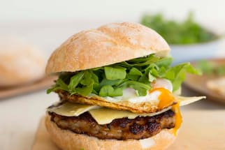 Sweet Paprika Sausage Breakfast Burgers
