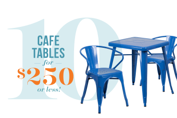 10 Small Space Café Tables U2014 Starting At Just $45