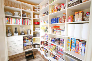 Steal This Bright Idea For A Pantry