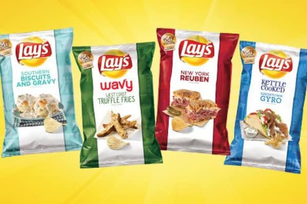 New Lays Potato Chip Flavors