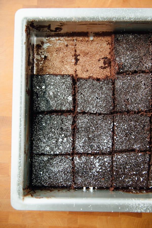 One-dish chocolate cake