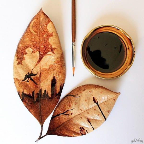 Coffee-Stain Paintings