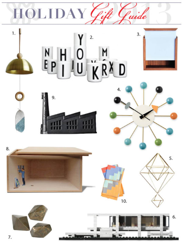 design lovers holiday gift guide