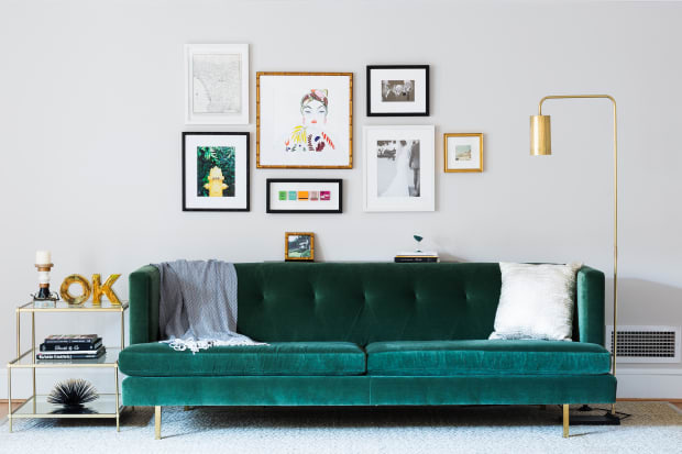 Large Picture Frames You Can Make On The Cheap Apartment Therapy