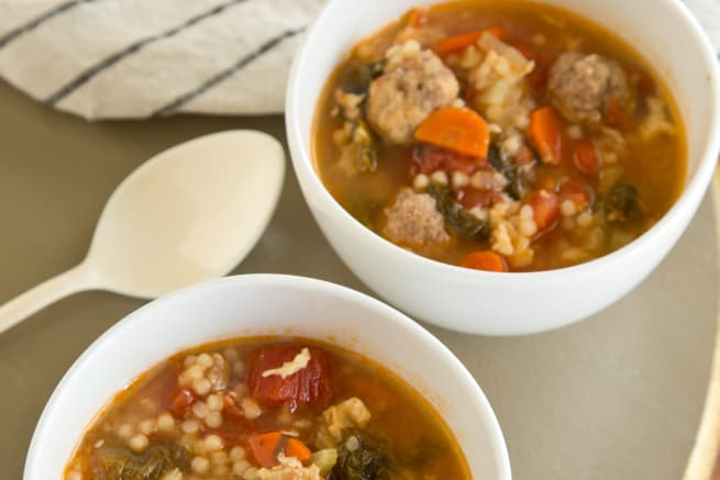 Tomato Italian Wedding Soup