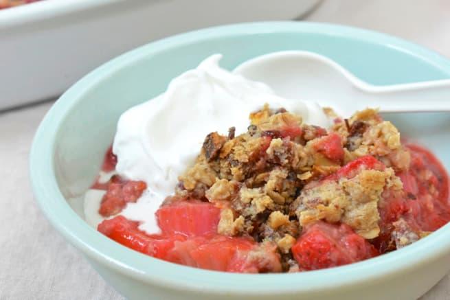 Recipe: Allergy-Friendly Fruit Crumble (Gluten-Free, Nut-Free & Vegan!)
