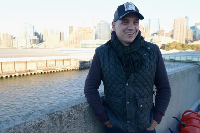 Chef Michael Symon Standing Outside
