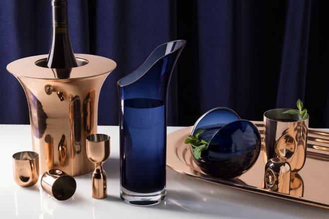 Plum Collection Shot Glass & Jigger Set