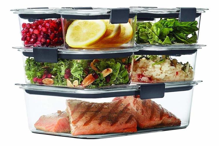 Rubbermaid Brilliance Food Storage Container, 14-Piece Set