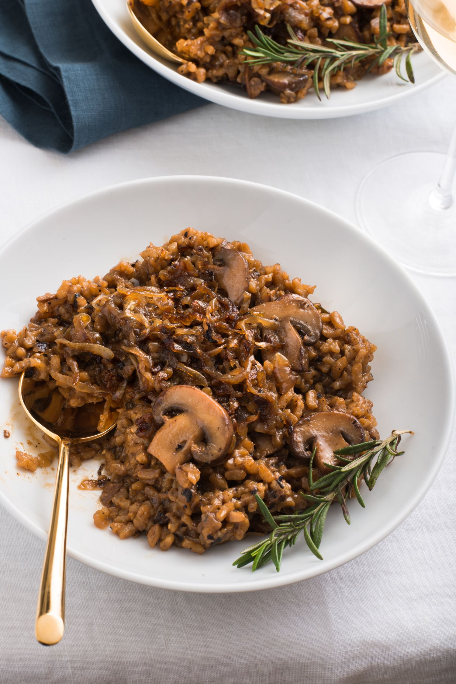 Baked Mushroom Risotto Is the Sexiest Vegan Dinner We Know