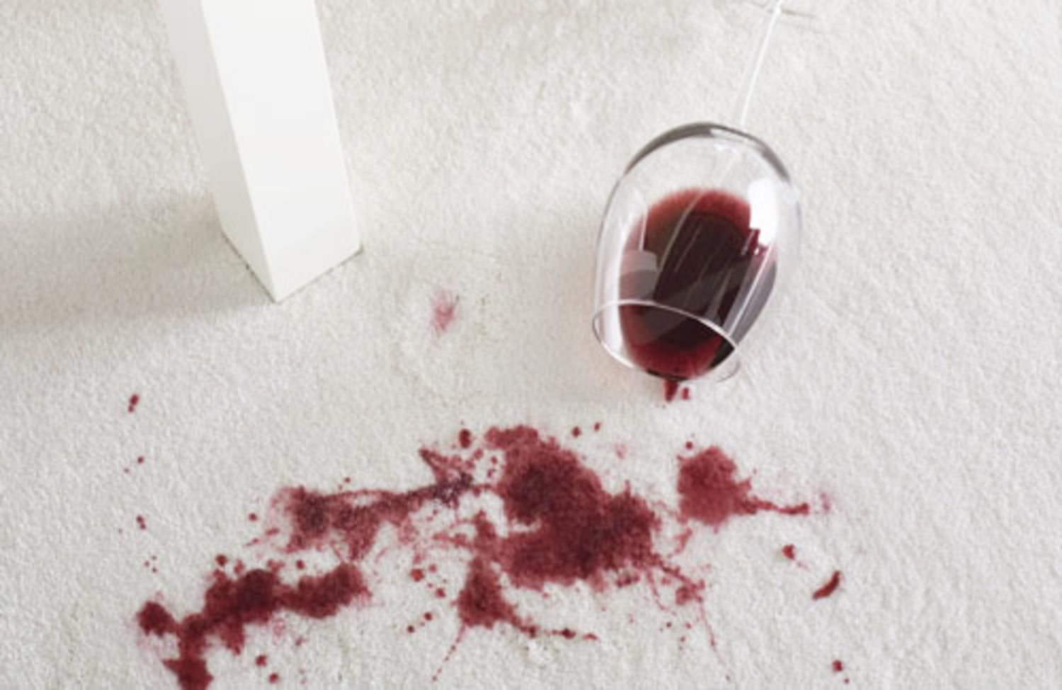Party Foul How To Clean Up Wine Stains Kitchn