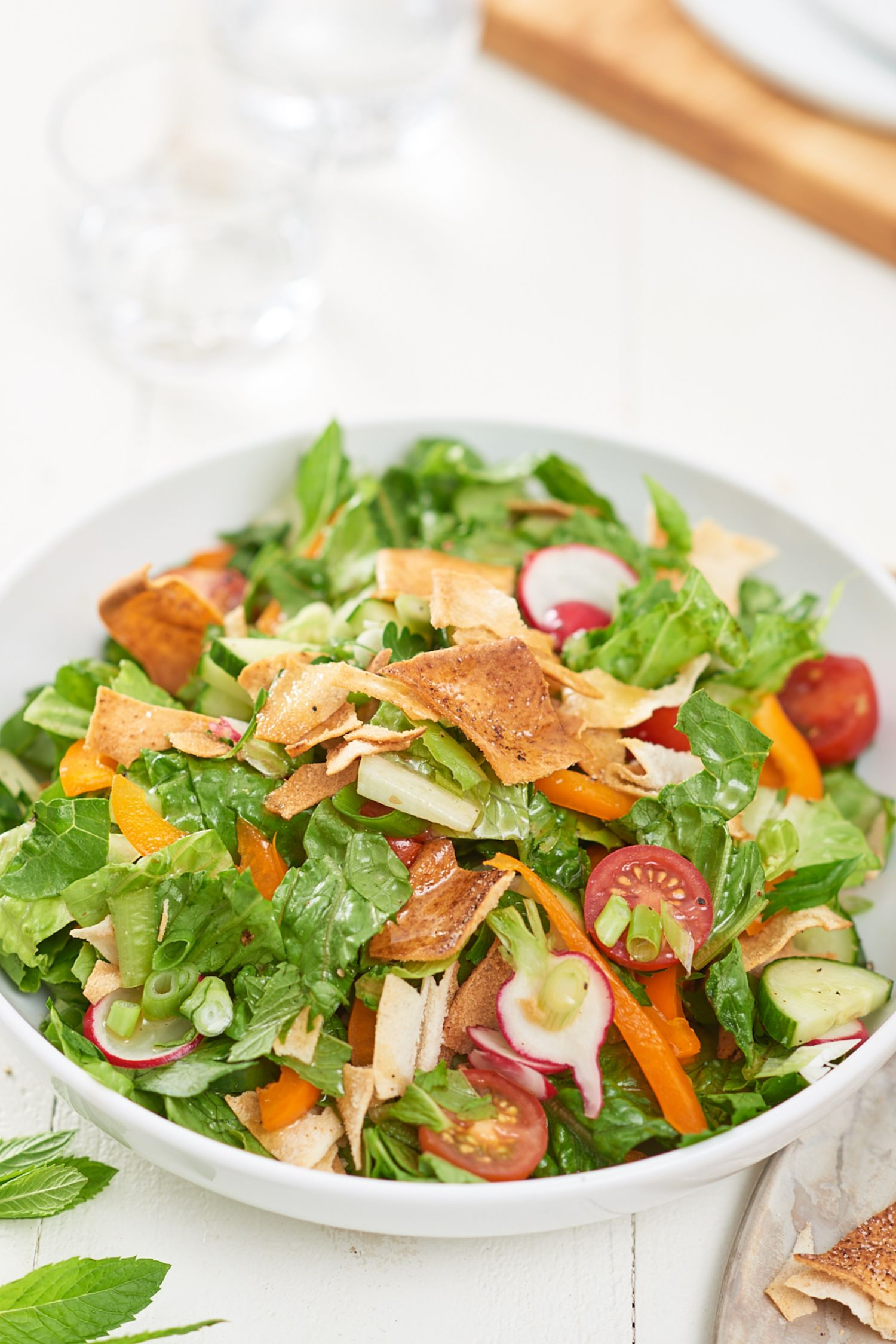 how to make salad at home